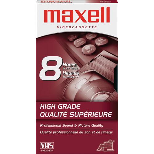 Maxell HG-T160 VHS Video Cassette
