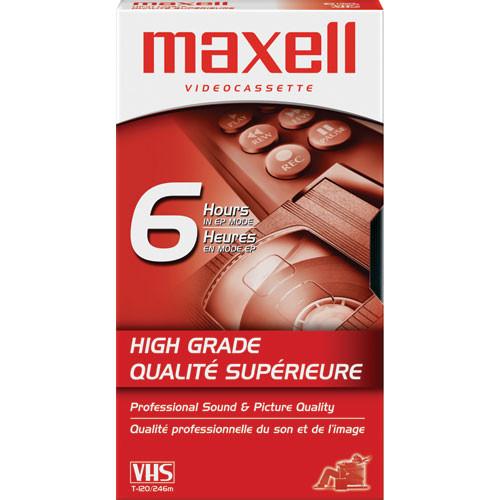 Maxell HG-T120 VHS Video Cassette