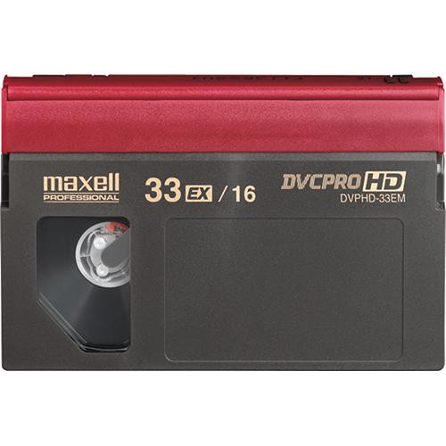 Maxell DVP-33M DVCPRO HD Video Cassette (Medium)