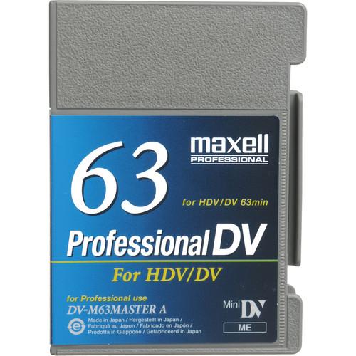 Maxell DV-63 Master A Professional DV Videotape (MIni)