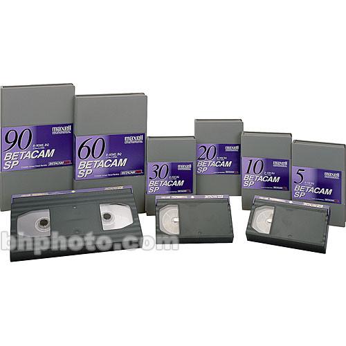 Maxell B-60ML Betacam SP BQ Cassette (Large)