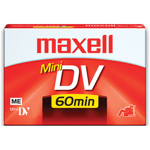 Maxell DV-60 Mini DV Cassette (60 Minutes)