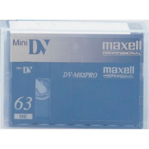 Maxell M-DV63PRO 63 Minute Mini DV Video Cassette