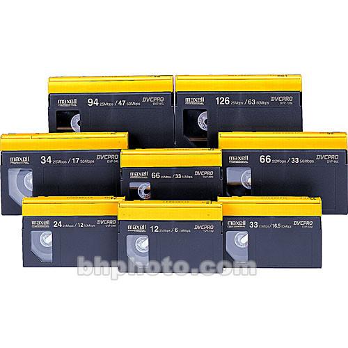 Maxell DVP-126L DVCPRO Cassette (Large)