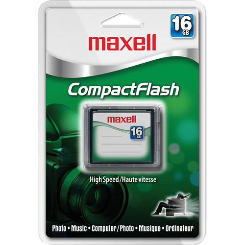 Maxell 16GB CompactFlash Memory Card 133x