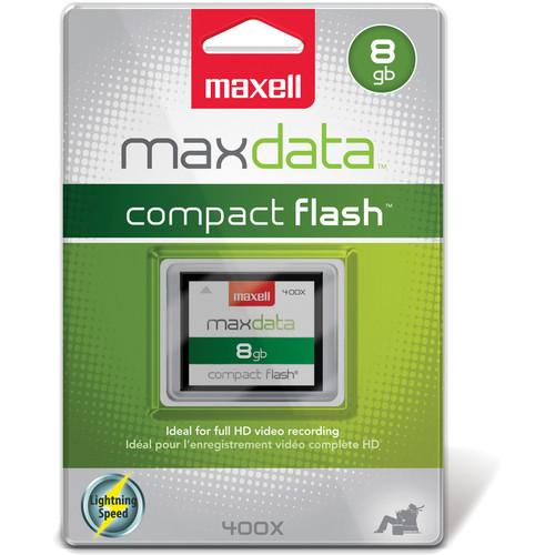 Maxell 8GB CompactFlash Memory Card maxdata 400x