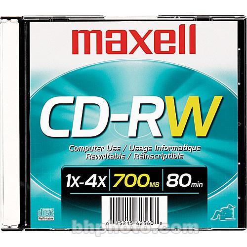 Maxell CD-RW 700MB Disc (1)