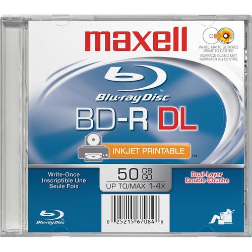 Maxell BD-R Dual Layer Printable White 50GB (White)