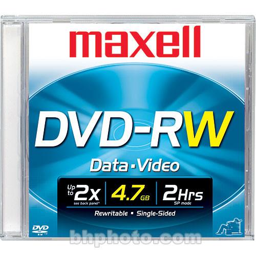 Maxell DVD-RW 4.7GB DVD Disc