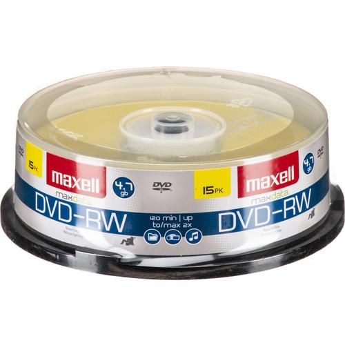Maxell DVD-RW 4.7GB DVD Disc (15)