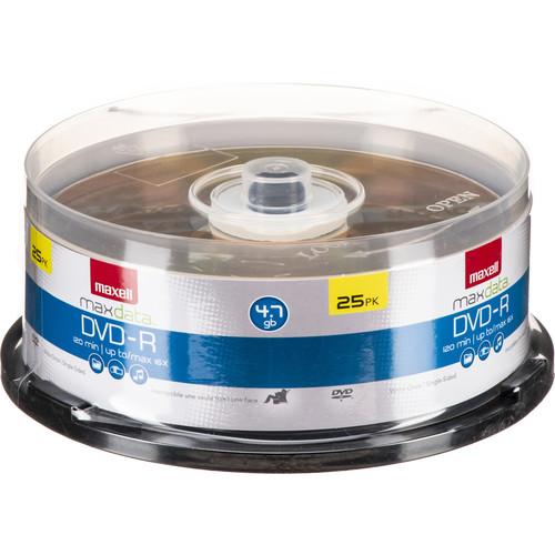 Maxell DVD-R 16x Disc (25)