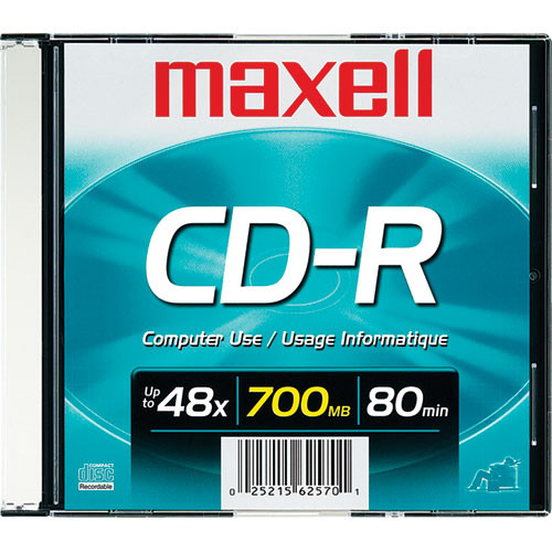 Maxell CD-R 700MB Disc