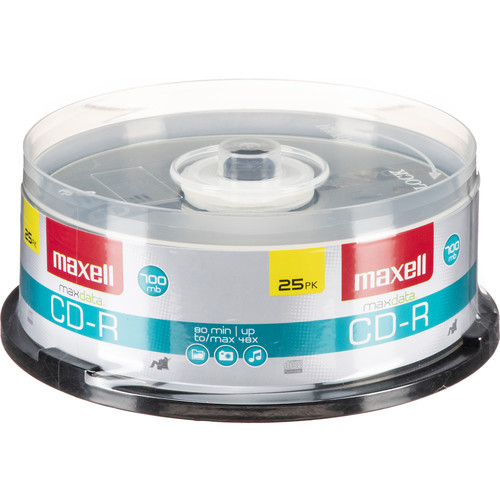Maxell CD-R 700MB Disc (25)