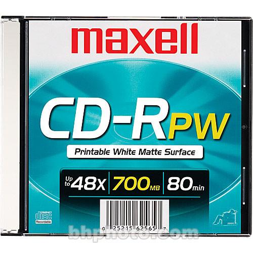 Maxell CD-R 700MB White Inkjet Disc