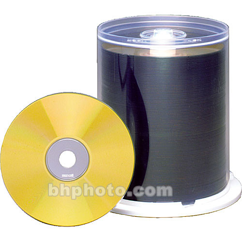 Maxell CD-R 700MB Gold Thermal Disc (100)