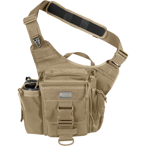 Maxpedition Jumbo Versipack Concealed Carry Bag (Khaki)