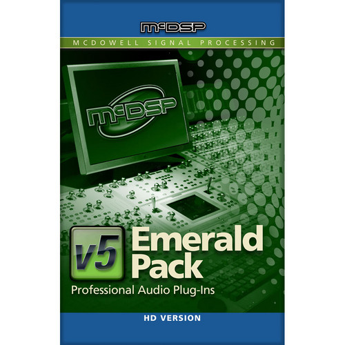 McDSP Emerald Pack HD v5 - Complete Music Production Plug-In Bundle (TDM/RTAS/AU)
