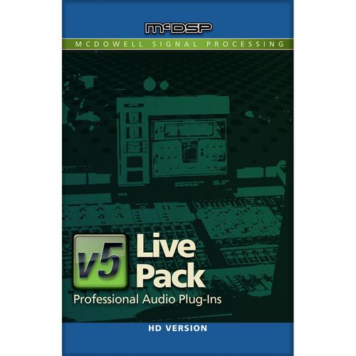McDSP Live Pack HD v5 - Live Sound Plug-In Bundle (TDM/RTAS/AU)