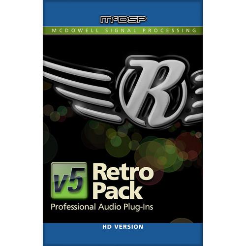 McDSP Retro Pack HD Bundle v5 - Vintage Styled EQ and Dynamics (TDM/RTAS/AU)