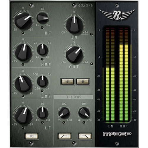 McDSP 4020 Retro EQ v5 - EQ and Filter Plug-In (Native)