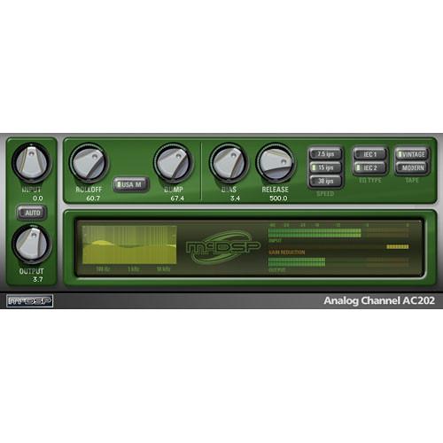 McDSP Analog Channel HD v5 - Analog Tape/Channel Emulation Plug-In (TDM/RTAS/AU)
