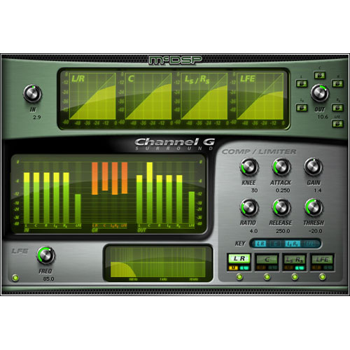 McDSP Channel G Surround v5 - Multi-Channel Dynamics Control Plug-In (TDM/RTAS/AU)