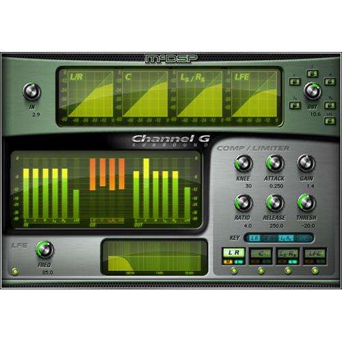 McDSP Channel G Surround v5 - Multi-Channel Dynamics Control Plug-In (TDM/RTAS/AU)