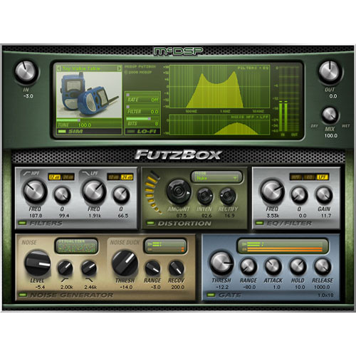 McDSP FutzBox v5 - Lo-Fi Distortion Effects Plug-In (Native)