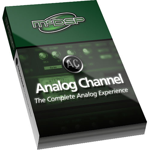 McDSP Analog Channel Native - Analog Tape/Channel Emulation Plug-In for Applications Supporting RTAS and AudioSuite Under Mac OS X 10.4.x and Windows XP - Upgrade for Owners of Analog Channel LE