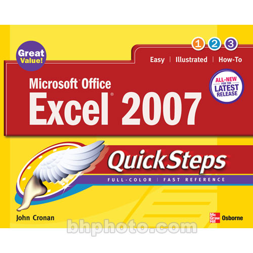 McGraw-Hill Book: Microsoft Office Excel 2007 QuickSteps