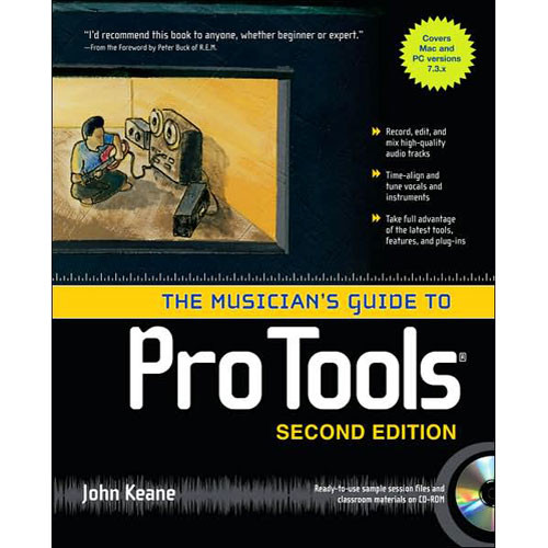 McGraw-Hill Book: The Musician's Guide to Pro Tools by John Keane