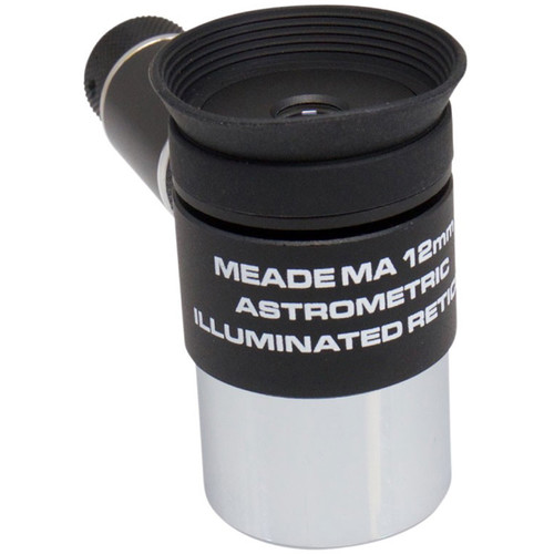 "Meade 12mm Modified Achromatic Eyepiece w/ Illuminated Reticle (1.25"")"