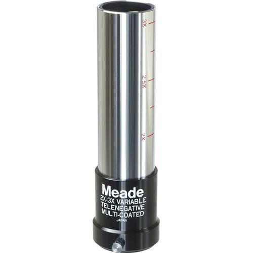 "Meade #127 2x-3x Variable-Magnification Barlow Lens (1.25"")"