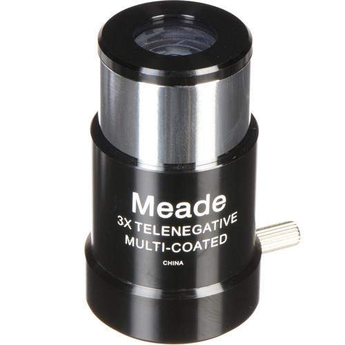"Meade #128 3x Short Focus ETX Barlow Lens (1.25"")"