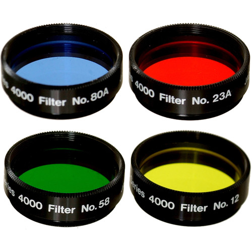"Meade Series 4000 4 Pc Filter Set #1 (1.25"")"