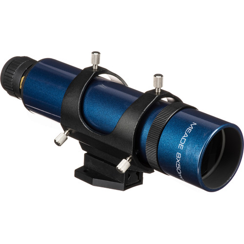 Meade #828 8x50 Rear-Focus Viewfinder (Blue)