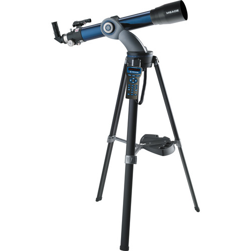 Meade 90mm StarNavigator Refractor Telescope with AudioStar Controller