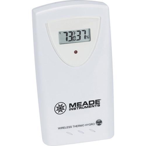 Meade Wireless Remote Temperature and Humidity Sensor