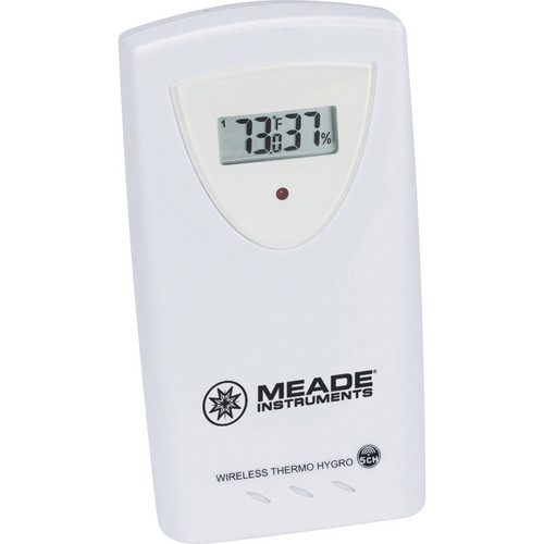 Meade Wireless Long Range Remote Temperature and Humidity Sensor
