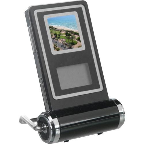 Media Street eMotion Compact Digital Picture Frame, Clock, Calendar & Thermometer - Vertical Orientation