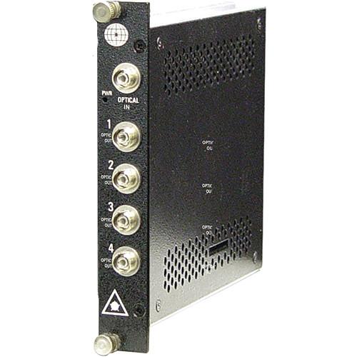 Meridian Technologies SP-1x4-SM-FC 4-Channel SM/FC Fiber Optic Splitter
