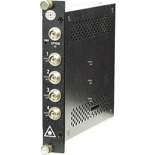 Meridian Technologies SP-1X4-SM 4-Channel Singlemode Fiber Optic Splitter