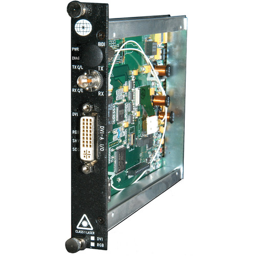 Meridian Technologies SR-1DV-0 Digitally Encoded DVI/RGB Fiber System Receiver