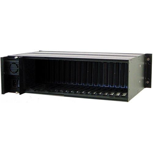 "Meridian Technologies SR-2001/AS1 19"" Universal Subrack Frame"