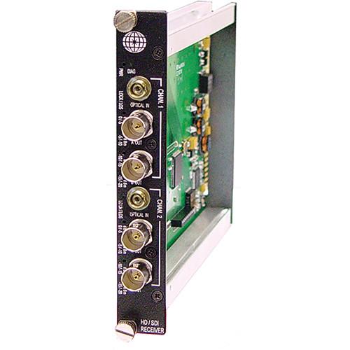 Meridian Technologies SR-2HD-3FC 2-Channel SM/FC HD-SDI DigiView Receiver