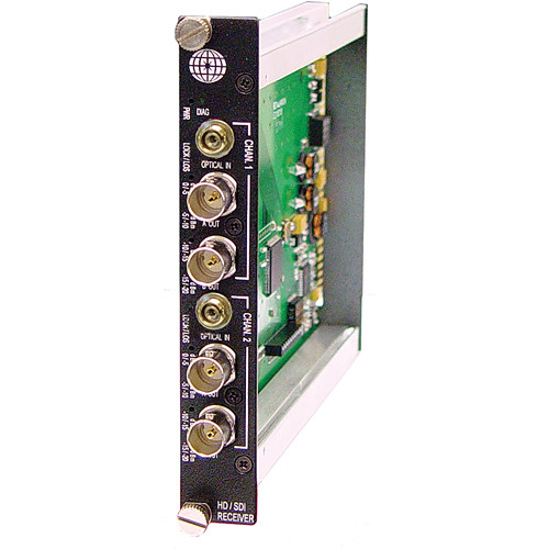Meridian Technologies SR-2HG-3  Fiber Transmission System (Receiver)