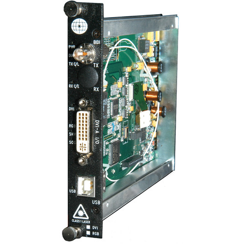 Meridian Technologies ST-1DV-0 Digitally Encoded DVI/RGB Fiber System Transmitter