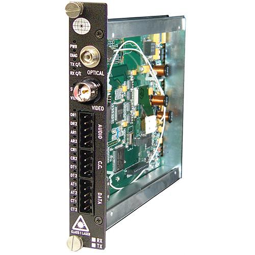 Meridian Technologies ST-1W1A2C/1A2C-5 Fiber Transmission System (Transmitter)