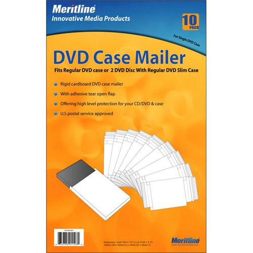 Merit Line DVD Case Mailer (10)
