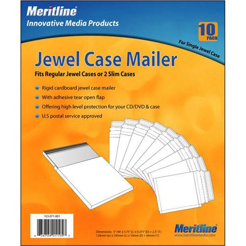 Merit Line CD Jewel Case Mailer (10)